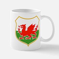 wales dragon shield Mug