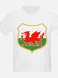 wales dragon shield T-Shirt
