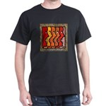 """Brick Wall"" Black T-Shirt"