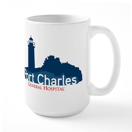 Port Charles Large Mug