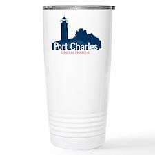 Port Charles Stainless Steel Travel Mug