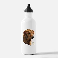 Golden Retriever Art Water Bottle
