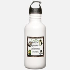 Collie Heritage Gifts Water Bottle