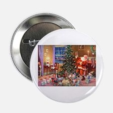 "SANTA CLAUS ON CHRISTMAS EVE 2.25"" Button"
