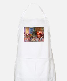 SANTA CLAUS ON CHRISTMAS EVE Apron