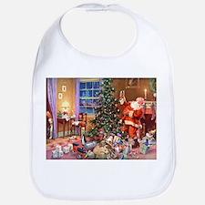 SANTA CLAUS ON CHRISTMAS EVE Bib