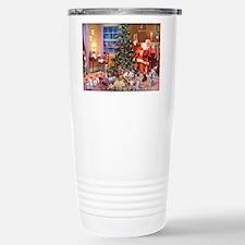 SANTA CLAUS ON CHRISTMA Stainless Steel Travel Mug