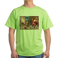 SANTA CLAUS ON CHRISTMAS EVE T-Shirt