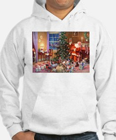 SANTA CLAUS ON CHRISTMAS EVE Jumper Hoody