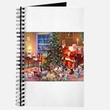 SANTA CLAUS ON CHRISTMAS EVE Journal
