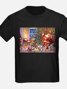 SANTA CLAUS ON CHRISTMAS EVE T