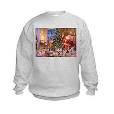 SANTA CLAUS ON CHRISTMAS EVE Sweatshirt