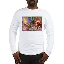 SANTA CLAUS ON CHRISTMAS EVE Long Sleeve T-Shirt