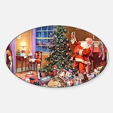SANTA CLAUS ON CHRISTMAS EVE Decal