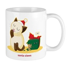 Santa Claws Small Mug