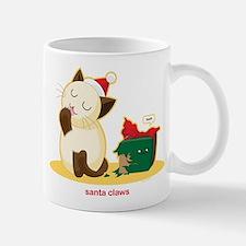 Santa Claws Small Small Mug