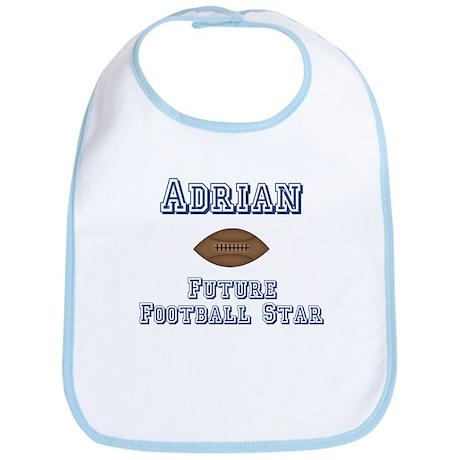 Adrian - Future Football Star Bib