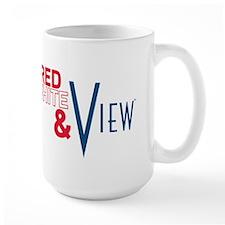 Red, White & View Mug