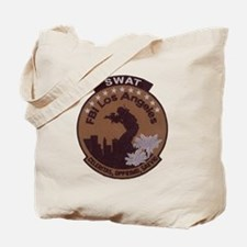 L A FBI SWAT Tote Bag