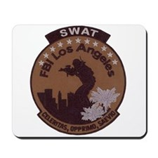 L A FBI SWAT Mousepad
