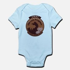 L A FBI SWAT Infant Bodysuit