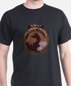 L A FBI SWAT T-Shirt