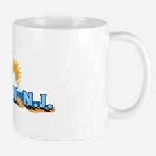 Avalon NJ - Waves Design Mug
