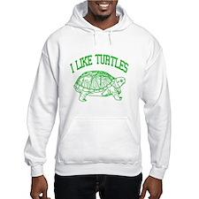 I Like Turtles - Hoodie