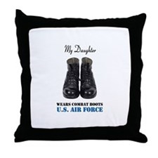 My Daughter Throw Pillow