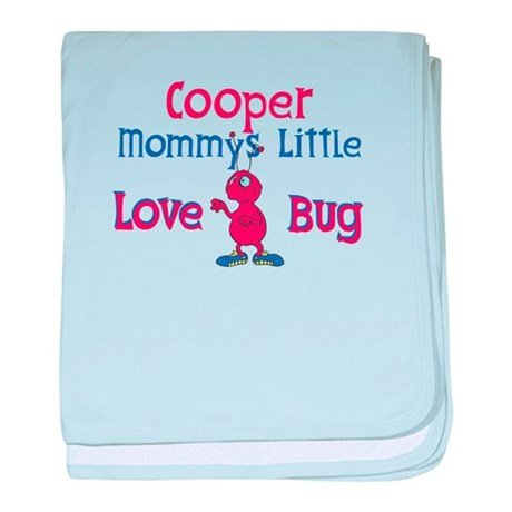 Cooper - Mommy's Love Bug baby blanket
