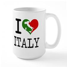 I Love Italy Italian Heart Mug