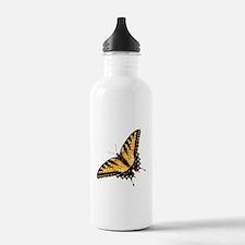 Tiger Swallowtail Butterfly Sports Water Bottle