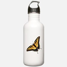 Tiger Swallowtail Butterfly Water Bottle