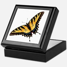 Tiger Swallowtail Butterfly Keepsake Box