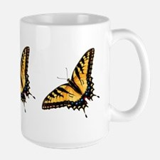 Tiger Swallowtail Butterfly Large Mug
