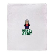 Cute Dean Throw Blanket