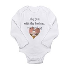 I'm Parched Long Sleeve Infant Bodysuit