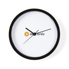 Social Strata Wall Clock