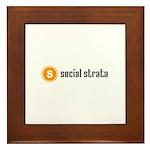 Social Strata Framed Tile