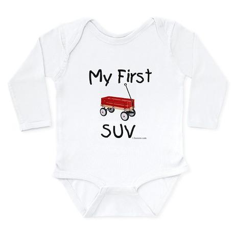 First SUV Long Sleeve Infant Bodysuit