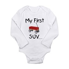 First SUV Long Sleeve Infant Bodysuit