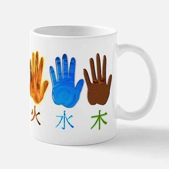5 Element Long Design Mug