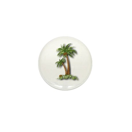 Twin palms Mini Button (10 pack)