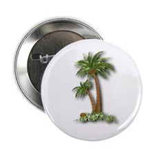 """Twin palms 2.25"""" Button (100 pack)"""