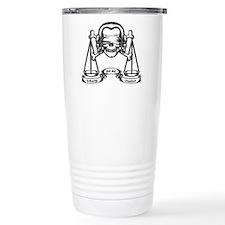 Law Pirate Travel Coffee Mug