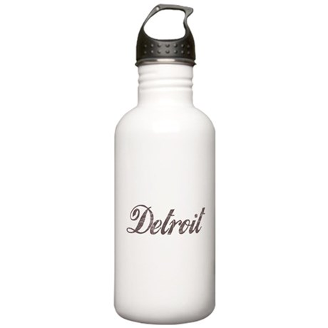 Vintage Detroit Stainless Water Bottle 1.0L