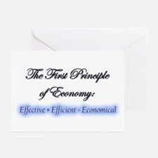 """""""Econ One"""" Greeting Cards (Pk of 10)"""