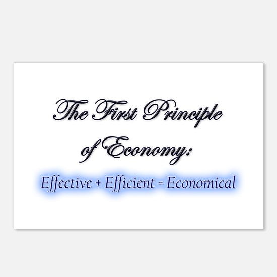"""""""Econ One"""" Postcards (Package of 8)"""