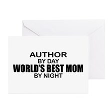 World's Best Mom - Author Greeting Cards (Pk of 10