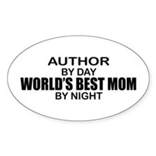 World's Best Mom - Author Decal